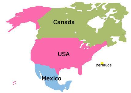 Vacation Rentals in North America